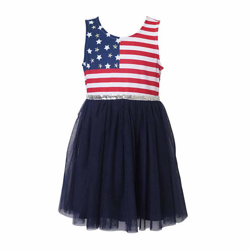 Lilt Sleeveless Tutu Dress - Preschool Girls