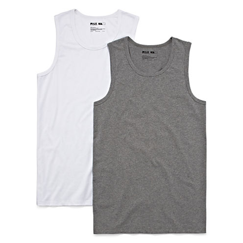 MSX by Michael Strahan 2-pk. Cotton Stretch A-Shirts - Big & Tall
