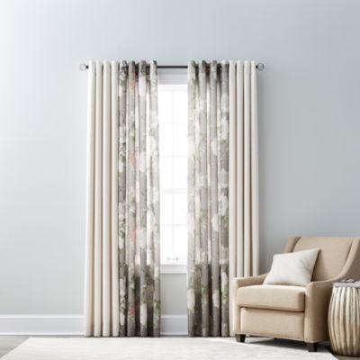 jcpenneycom jcpenney home quinn u0026 farrah grommettop curtain panels