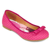 Stevies® Girls Basket-Weave Ballet Flats - Little Kids/Big Kids