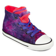 Converse All Star Chuck Taylor Party  Girls High-Top Sneakers - Toddler