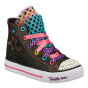 Skechers® Twinkle Toes Girls High-Tops - Little Kids