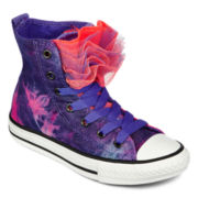 Converse All Star Chuck Taylor Party Girls High-Top Sneakers - Little Kids
