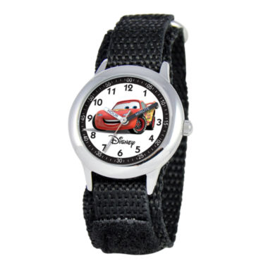 jcpenney.com | Disney Cars Kids Time Teacher Nylon Fast Strap Watch