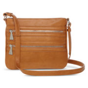Liz Claiborne Zippery Crossbody Bag