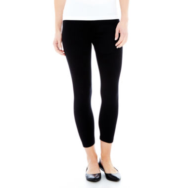 jcpenney.com | Solid Cropped Leggings