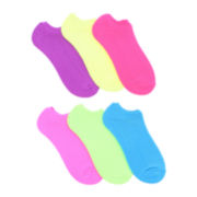 6-pk. No-Show Socks