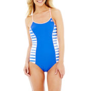 Zero Xposur® Triangle-Back 1-Piece Swimsuit