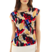 MNG by Mango® Short-Sleeve Print Blouse