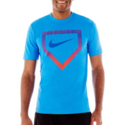 Nike® Baseball Plates Graphic Tee