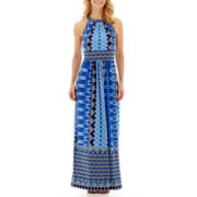 RN Studio by Ronni Nicole Sleeveless Print Maxi Dress