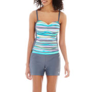 Free Country® Tankini Swim Top or Drawstring Shorts