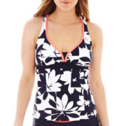 ZeroXposur® Pop Action Racerback Halterkini Swim Top