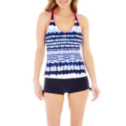 ZeroXposur® Tankini Swim Top or Boyshort Bottoms