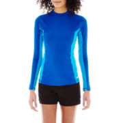 Speedo® Long-Sleeve Rashguard Top or Shorts Cover-Up
