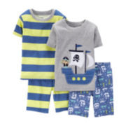 Carter's® 4-pc. Pirate Ship Pajama Set – Preschool Boys 4-7