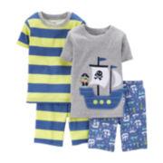 Carter's® 4-pc. Pirate Ship Pajama Set - Preschool Boys 4-7