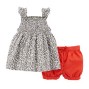 Carter's® Leopard Tank Top and Shorts Set – Baby Girls newborn-24m