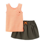 Carter's® Striped Tank Top and Skort Set – Baby Girls newborn-24m