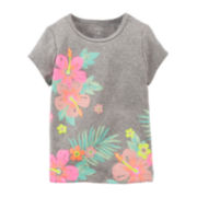 Carter's® Tropical Flower Tee – Baby Girl 6m-24m