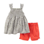 Carter's® Leopard Tank Top and Shorts Set - Toddler Girls 2t-5t