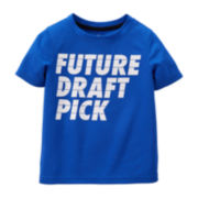 Carter's® Blue Draft Active Tee – Preschool Boys 4-7