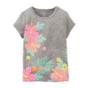 Carter's® Tropical Flower Tee - Preschool Girl 4-6x