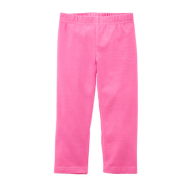 jcpenney.com | Carter's® Pink Capri Leggings - Preschool Girl 4-6x
