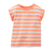 Carter's® Striped Tee – Baby Girls 6m-24m