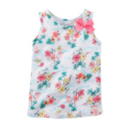 Carter's® Flower Bow Tank Top – Baby Girls 6m-24m