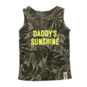 Carter's® Daddy's Sunshine Tank Top – Baby Girls 6m-24m