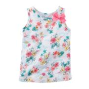 Carter's® Flower Bow Tank Top – Preschool Girls 4-6x