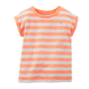 Carter's® Orange Striped Tee - Preschool Girls 4-6x