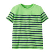 Carter's® Green Navy Striped Tee – Preschool Boys 4-7