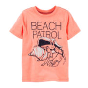 Carter's® Beach Crab Tee – Preschool Boys 4-7