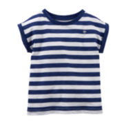Carter's® Striped Tee – Toddler Girls 2t-5t