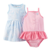 Carter's® Light Dress and Sunsuit Set – Baby Girls newborn-24m