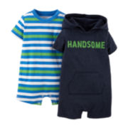 Carter's® Striped Bodysuit and Hoodie Set – Baby Boys newborn-24m