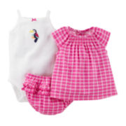 Carter's® 3-pc. Geo Apparel Set - Baby Girls newborn-24m
