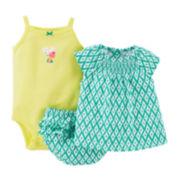 Carter's® 3-pc. Geo Apparel Set - Baby Girls newborn-24m