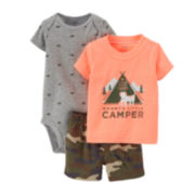 Carter's® 3-pc. Camper Apparel Set – Baby Boys newborn-24m