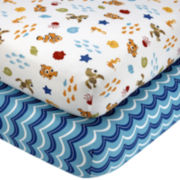 Disney Nemo Wavy Days 2-pk. Fitted Crib Sheet Set