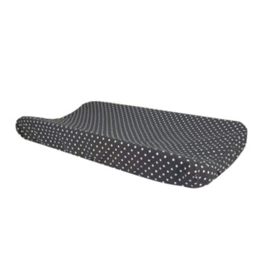 jcpenney.com | Trend Lab® Bedtime Gray Dot Changing Pad Cover