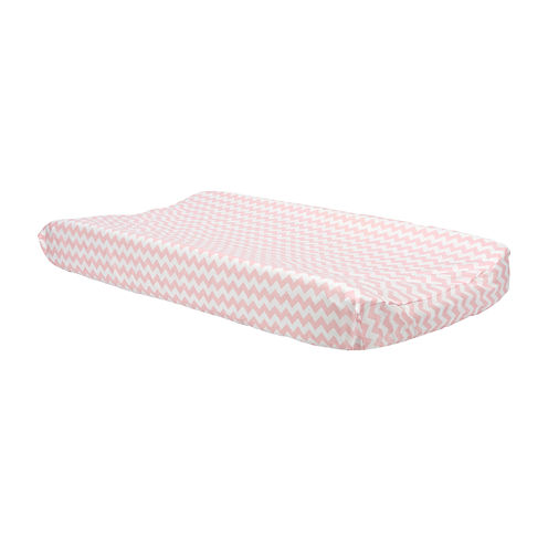 Trend Lab® Pink Sky Chevron Changing Pad Cover