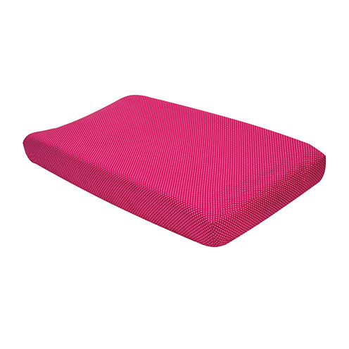 Trend Lab® Pink and White Dot Changing Pad Cover