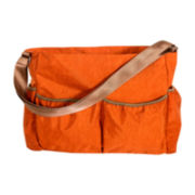 Trend Lab® Crinkle Tote Diaper Bag - Orange