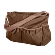 Trend Lab® Crinkle Tote Diaper Bag - Brown