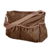 Trend Lab® Crinkle Tote Diaper Bag - Brown
