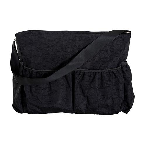 Trend Lab® Crinkle Tote Diaper Bag- Black