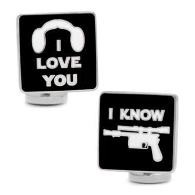 jcpenney.com | Star Wars™ I Love You I Know Icon Cuff Links